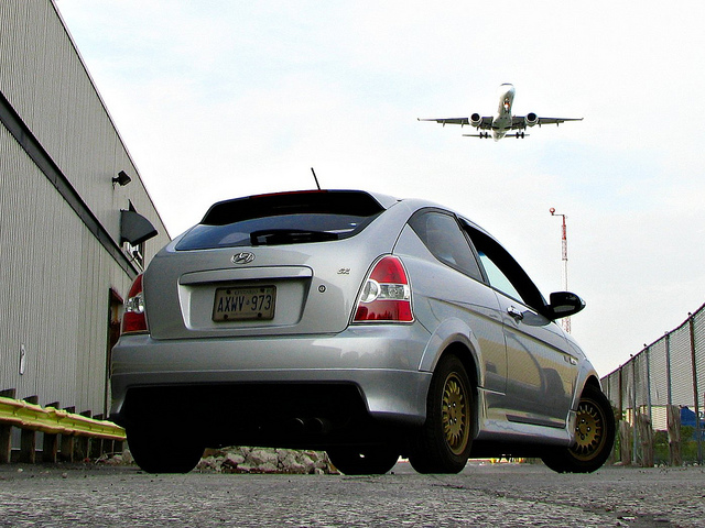 According to new research, flying is twice as efficient asdriving