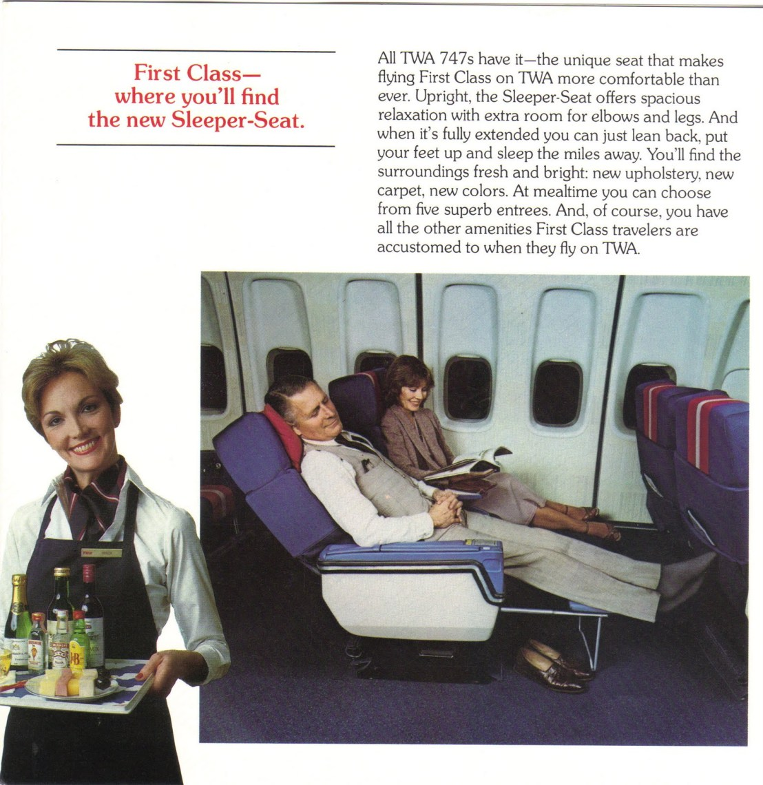 Image result for first class TWA